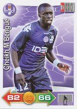 CHEIKH M'BENGUE # SENEGAL TOULOUSE.FC TFC CARD PANINI ADRENALYN 2012 - O