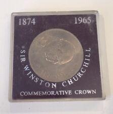 1965 Sir Winston Churchill Commemorative Crown Coin 1874 Elizabeth II