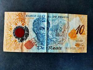 Brésil billet 10 reals en polymère