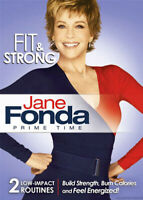 Jane Fonda: Prime Time - Fit and Strong DVD NEW