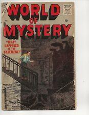WORLD OF MYSTERY #4 FR/GD ATLAS COMICS 1957 BOB POWELL, WERNER ROTH, DICK AYERS