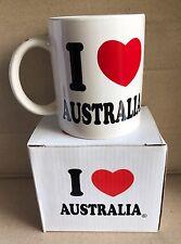 NEW I LOVE AUSTRALIA Souvenir Coffee ( Cup  . Mug )
