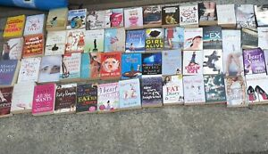 HUGE JOB LOT COLLECTION OF 60 GIRLS WOMENS LADIES FICTION BOOKS VGC
