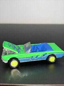 Hot Wheels California Custom MUSTANG Green  1988  W/ FREE SHIPPING