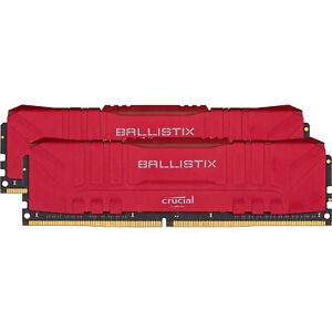 Crucial DIMM 32 GB DDR4-3600 Kit, Arbeitsspeicher, rot