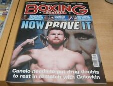 July Boxing Monthly Sports Magazines