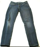 Levi Denizen Womens Jeans Size 2M Modern Skinny Medium Wash Stretch Denim