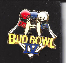 Bud Super Bowl IV Collectible Pin