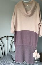 Kenzo Knit Purple & Pink Dress Size M