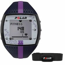 Polar FT7 Women's Fitness Heart Rate Monitor Blue Lilac Women's