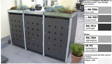 m lltonnenboxen aus metall g nstig kaufen ebay. Black Bedroom Furniture Sets. Home Design Ideas