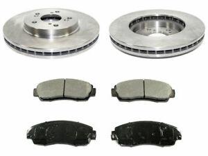 For 2007-2011 Honda CRV Brake Pad and Rotor Kit Front 93513PC 2010 2009 2008