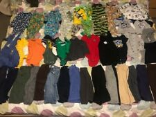Youth Boys Clothes Size 12M 12 Month Lot of 40 Assorted Pants Long Shirts Winter