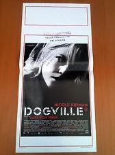 DOGVILLE locandina poster affiche Nicole Kidman Lars von Trier 2003 AA14