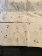 Ralph Lauren Tracy Floral Rose Shabby 2 Standard Pillowcases,EUC