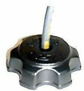 UFO Plastics UFO Black Gas Cap - KA03707001 Replacement 11-6390 Hon/Kaw/Suz