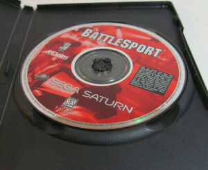 BattleSport (Sega Saturn, 1997) *RARE* Game Authentic Disc Only Tested / Works