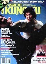 RARE 6/86 INSIDE KUNG FU DOC-FAI WONG CHOI LI-FUT BLACK BELT KARATE MARTIAL ARTS