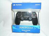"Original Dual Shock 4 Wireless Controller (Sony Playstation 4) ""NEW"" (Jet Black)"