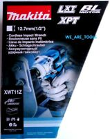 """NEW IN BOX Makita 18V XWT11Z Brushless Cordless 1/2"""" Impact Wrench 3 Speed"""