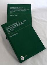 Indice onomástico, toponímico y bibliográfico de las Cartas-ExLibrary