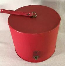 Everbest Hollywood Florida Hat Wig Travel Box Red Vintage
