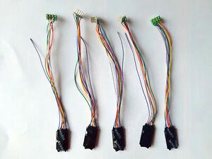 Lot 5x Decodeur 8 poles NEM652 Decoder digital NEM652 Lotto 5x LaisDcc 860021