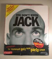 You Don't Know Jack PC CD-ROM 1995 Windows 95 PC BIG BOX BRAND NEW SEALED