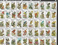 1982 Birds Mini Sheet  MUH/MNH as scan
