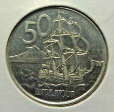 New Zealand  2006 50 Cents  HMS Endeavour