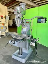 2hp Bridgeport Milling Machine 9 X 42 Table With Accu Rite Dro And Power Feed