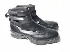 Nike Air Jordan Elegante Two3 Leather Ankle Boots Black Men's Size 11 Very Nice