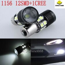 2x Cree 1156 BA15S 1141 Car LED Reverse Backup Tail Light Bulbs 10W 7506 1141