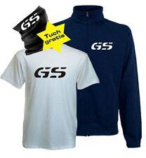 GS Sparset Sweatjacke T-Shirt Tuch R1100GS R1150GS R1200GS für BMW Fans