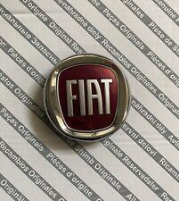 Fregio Emblema Logo Fiat Rosso Anteriore 95mm ORIGINALE