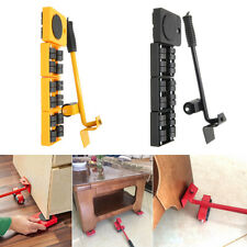 5X Heavy Furniture Mover Lifter Easy Slides Transport Set Lifting Duty Tool US