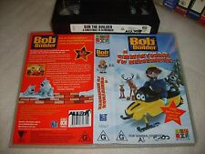 VHS *BOB THE BUILDER - A CHRISTMAS TO REMEMBER* ABC Kids Issue - Can we fix it?