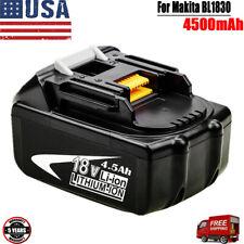 Makita BL1830B-2 18V Batteries - 2 Pieces