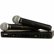 Shure BLX288/PG58 H10 Dual Wireless System with Two PG58 Handheld Microphone