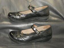 Dansko women's black leather closed toe mary jane style pump shoes EUR 39
