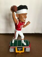Patrick Mahomes Kansas City Chiefs NEW FOCO '19 Std Lights Bobblehead NIB