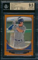 BGS 9.5 w/10 AARON JUDGE 2013 Bowman Draft Picks ORANGE #/250 Rookie RC GEM MINT