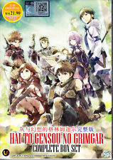 Hai zu GENSOU keine grimgar DVD (EPS: 1 bis 12 End) mit englischen Untertitel