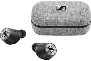 Sennheiser Momentum True Wireless Earbuds - Silver/Black