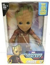 "HASBRO GUARDIANS OF THE GALAXY 2 Groot Figure Ravager Outfit 10"" Walmart"