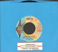 MacGregor, Byron - Americans Vinyl 45 rpm record Free Shipping