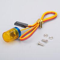LED Light Flash Yellow 13X18 mm AX-510Y 360 Degree Rotation 1/10 RC Model Car
