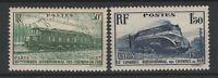 FRANCOBOLLI - 1937 FRANCIA FERROVIE C.30+1,50 FR. MNH E/1512