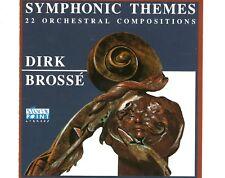 CD DIRK BROSSÉ symphonic themes  EX+ HOLLAND   (B0534)