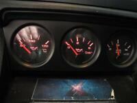 Audi 80 Cabrio Typ89 VDO Zusatzinstrumente mit Blende ÖldruckVolt 8A1919214C/F